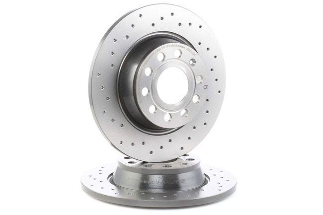 Bremsscheibe Bremsscheibendicke: 12mm, Lochanzahl: 5, Ø: 282mm mit OEM-Nummer 3CD 615 601