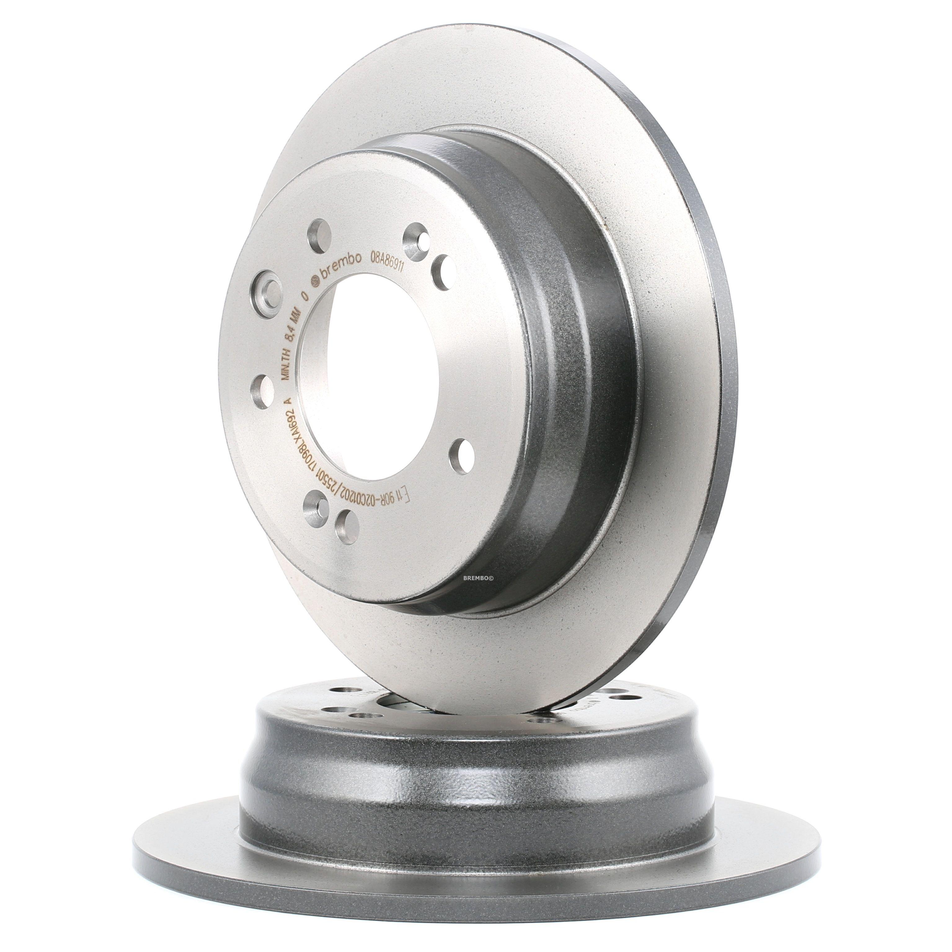 Brake Rotors BREMBO 08.A869.11 rating