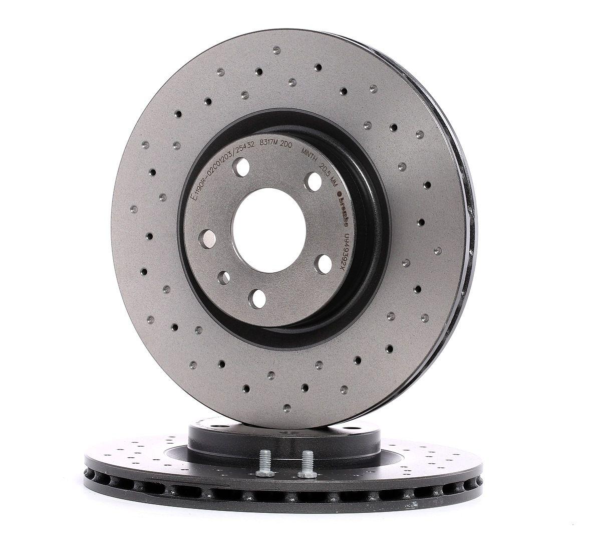 Brembo 09.5674.2X Rotores de Discos de Frenos