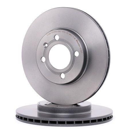 Bremsscheibe Bremsscheibendicke: 20mm, Lochanzahl: 4, Ø: 256mm mit OEM-Nummer 321.615.301 D