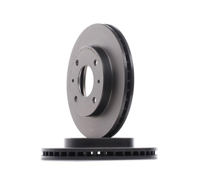 BREMBO 09704311 Disc brake set
