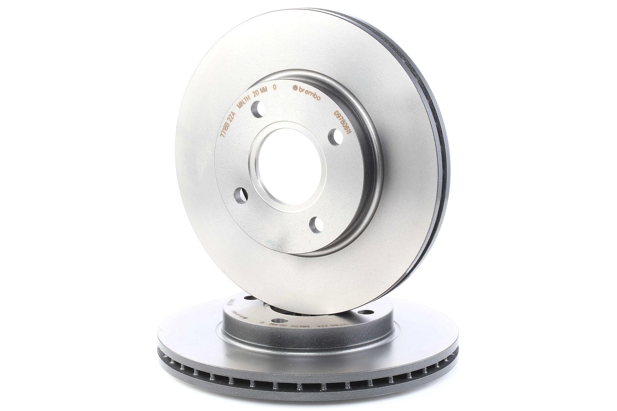 Brake Rotors BREMBO 09.7806.11 rating