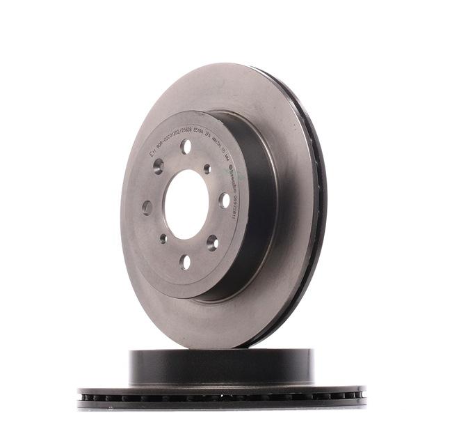 BREMBO 09972811 Disc brake set