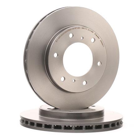Frenos de disco BREMBO 7887513 Ventilación interna, revestido, altamente carbonizado