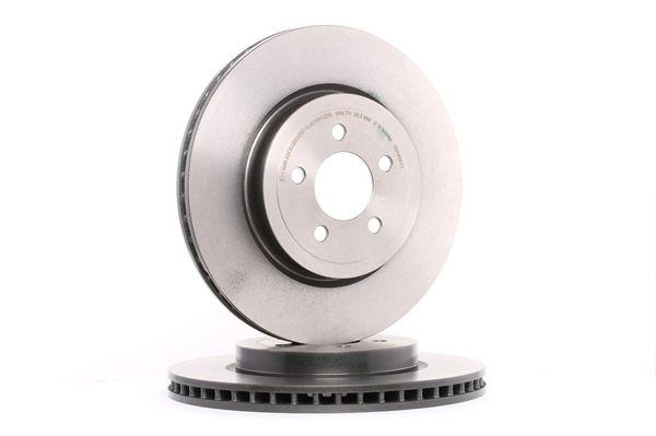 brembo bremseskive coated disc line foraksel 345mm. Black Bedroom Furniture Sets. Home Design Ideas