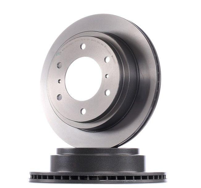Frenos de disco BREMBO 7887526 Ventilación interna, revestido