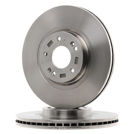 Brake Disc 09.B614.10 BREMBO Internally Vented, High-carbon, with screws Brake Disc Thickness: 28mm, Num. of holes: 5, Ø: 321mm