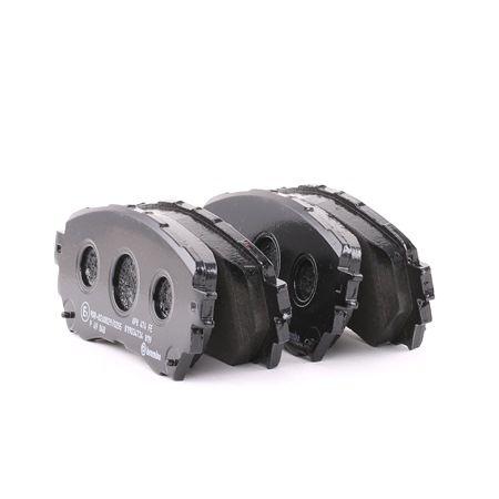 OEM Brake Pad Set, disc brake BREMBO D17118936 for MAZDA