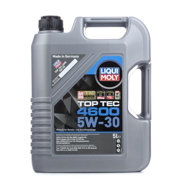Olio auto 5W-30, Contenuto: 5l, Olio sintetico EAN: 4100420023163
