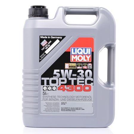 Двигателно масло 5W-30, съдържание: 5литър, Масло напълно синтетично EAN: 4100420037412