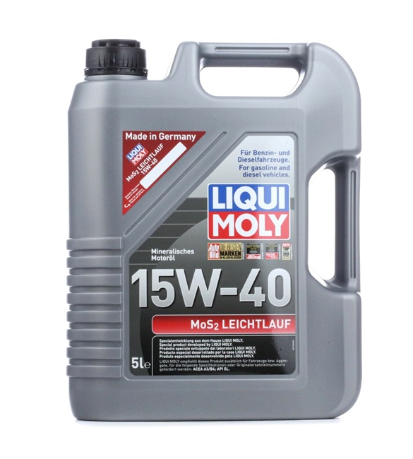 Motorolaj FORD 15W-40, Térfogat: 5l, ásványi olaj