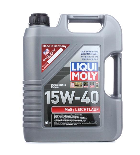 Motoröl Honda Stream 1 15W-40, Inhalt: 5l, Mineralöl