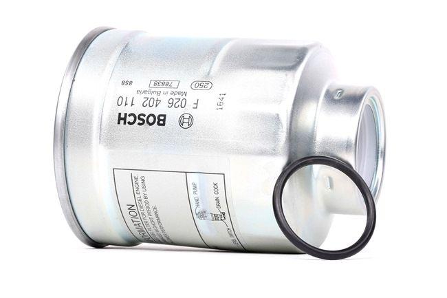 Filtro de combustible BOSCH N2110 Filtro enroscable