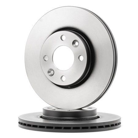 Brake Disc DF6186 Clio 4 (BH_) 1.5 dCi (BHMW) MY 2013