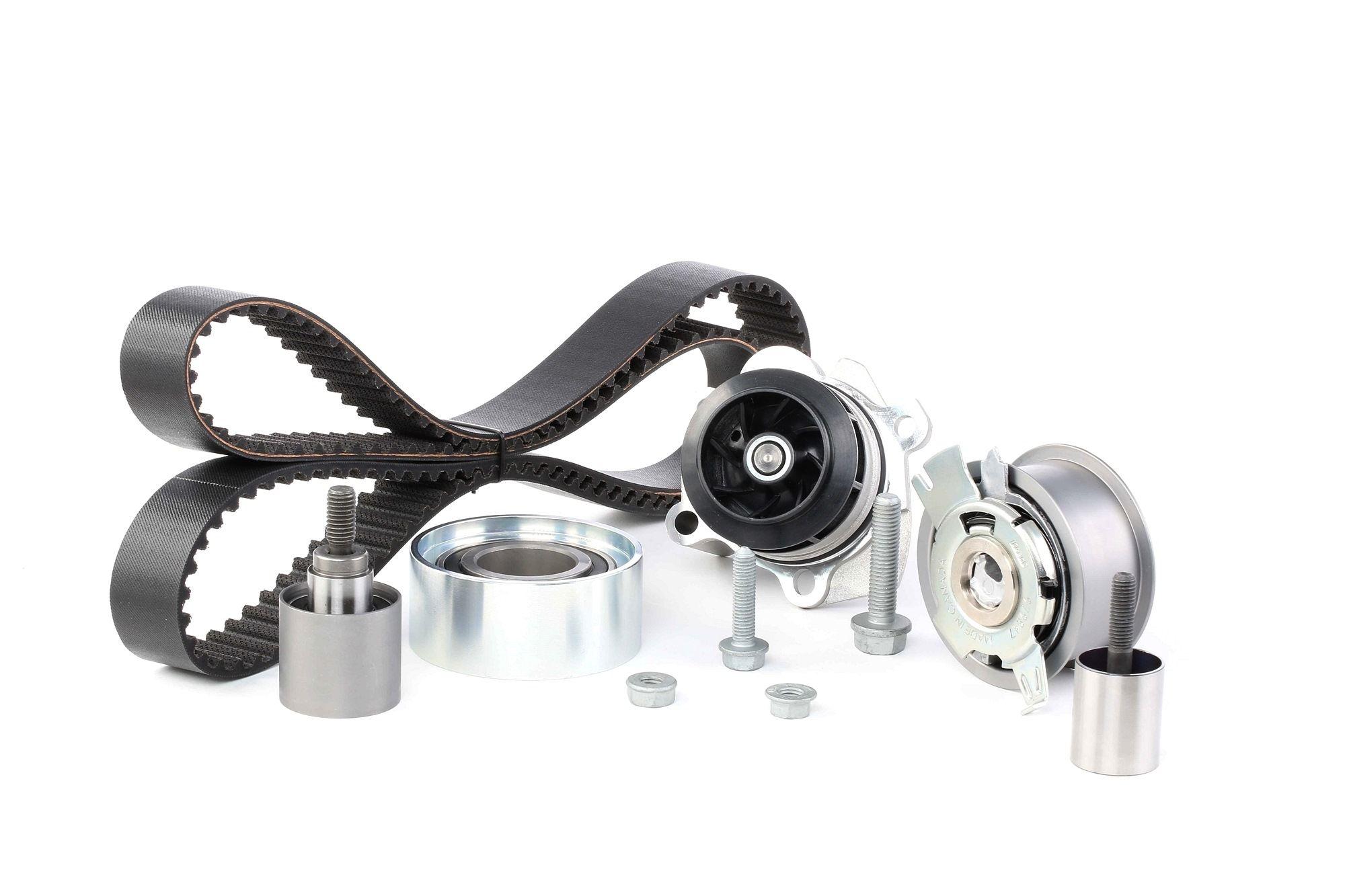 Water Pump + Timing Belt Kit GATES T43181 rating