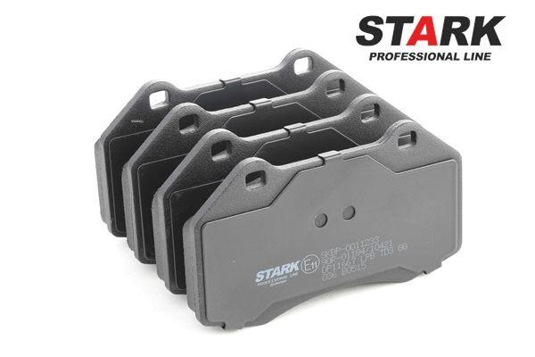 Brake Pad Set, disc brake SKBP-0011233 MEGANE 2 (BM0/1, CM0/1) 2.0 16V Turbo MY 2005