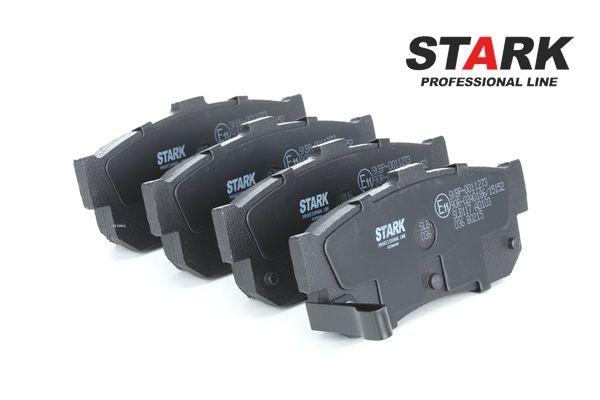 Juego de pastillas de freno STARK 7927200 Eje trasero, con avisador acústico de desgaste