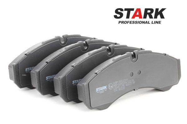 STARK Hinterachse, Vorderachse, für Verschleißwarnanzeiger vorbereitet SKBP0011314