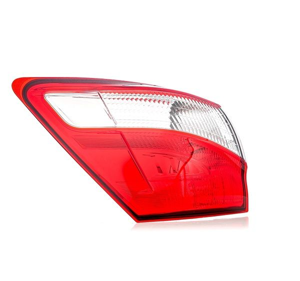 Rear lights TYC 7930350 Left, without lamp base, Outer section