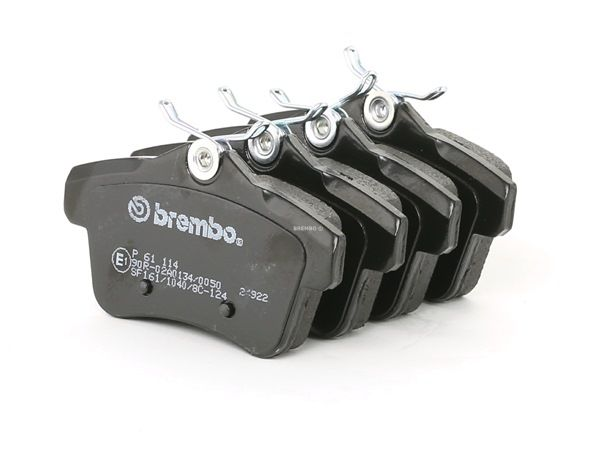 Disk brake pads BREMBO D18319062 excl. wear warning contact