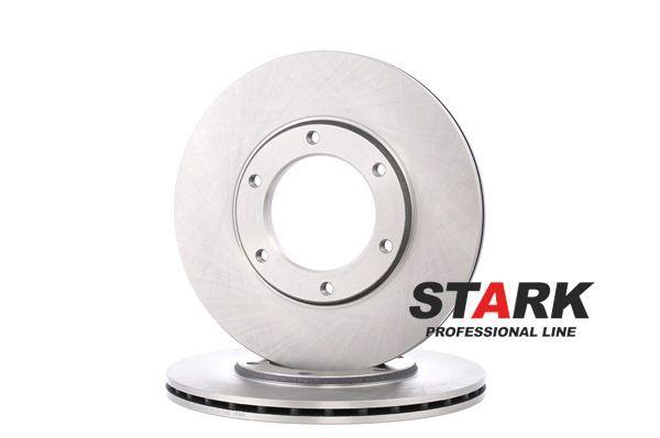 Discos de freno NISSAN PATROL Hardtop (K260) 1994 Año 7936349 STARK ventilado