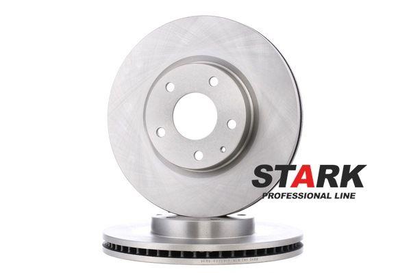 Brake disc kit MAZDA 6 Saloon (GJ, GL) 2019 year 7936384 STARK Internally Vented, without wheel hub, without wheel studs