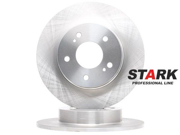 STARK Hinterachse, Voll, ohne Radbefestigungsbolzen, ohne Radnabe SKBD0022919