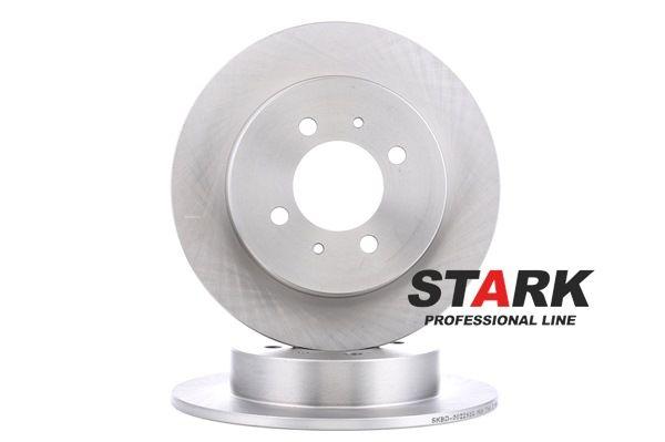 STARK Hinterachse, Voll, ohne Radbefestigungsbolzen, ohne Radnabe SKBD0022932