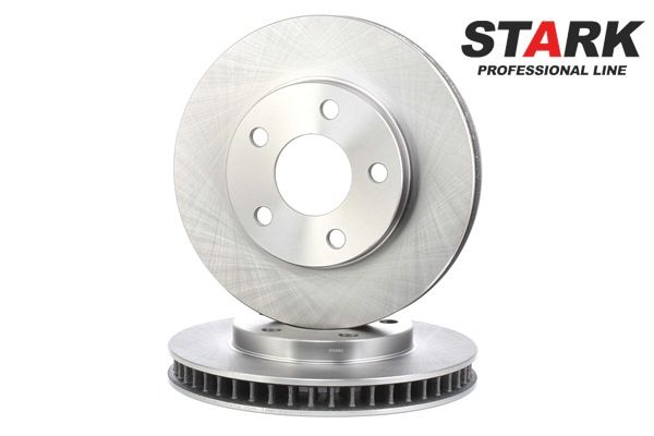 STARK Bremsscheibe PONTIAC Innenbelüftet, ohne Radnabe, ohne Radbefestigungsbolzen