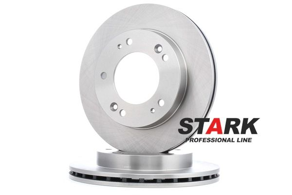 Discos de freno KIA SPORTAGE (K00) 2002 Año 7936538 STARK ventilado