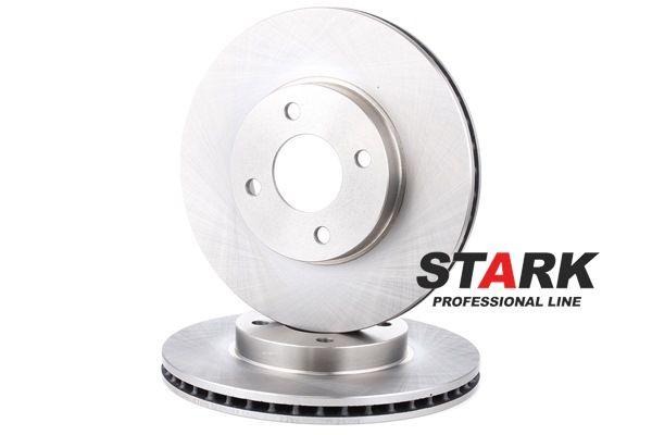 STARK Vorderachse, Innenbelüftet, ohne Radbefestigungsbolzen, ohne Radnabe SKBD0022764