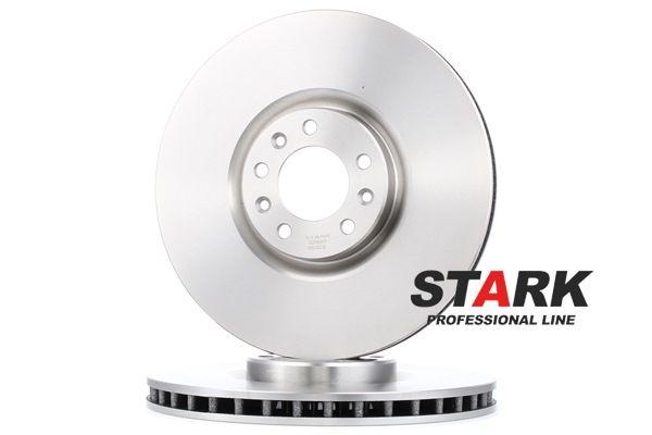 Frenos de disco STARK 7936682 Eje delantero, ventilado, con tornillos