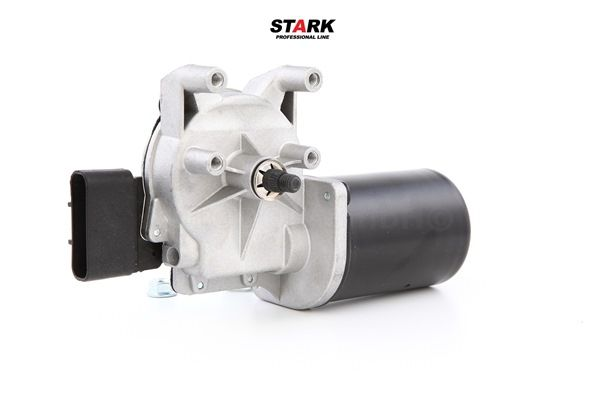 Windshield wiper motor STARK 7941192 Front, for left-hand drive vehicles