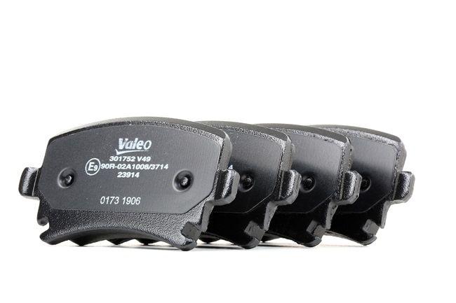 Bremsbelagsatz, Scheibenbremse Breite 1: 105,7mm, Höhe 1: 55,9mm, Dicke/Stärke 1: 17,2mm mit OEM-Nummer 8E0 698 451M