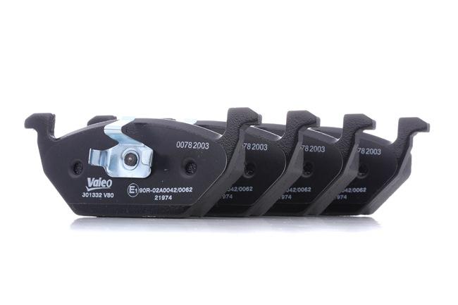 Bremsbelagsatz, Scheibenbremse Breite 1: 146,4mm, Höhe 1: 54,65mm, Dicke/Stärke 1: 18,5mm mit OEM-Nummer 6R0698151A