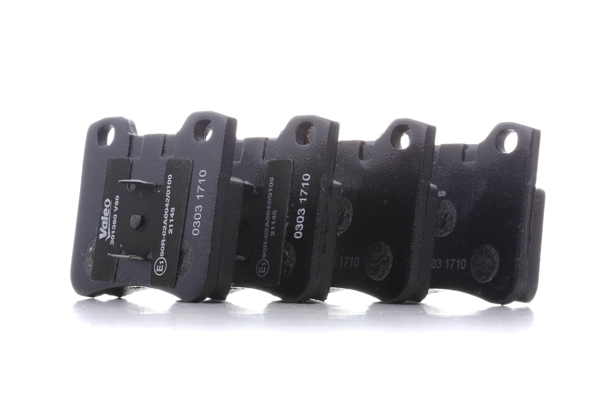 Bremsbelagsatz VALEO 301360 Bewertung