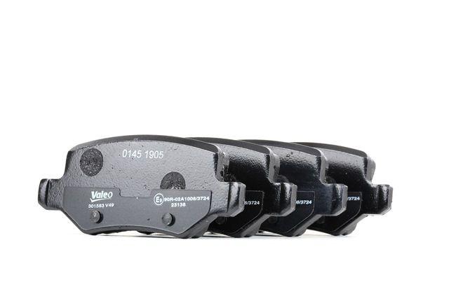 Brake Pad Set, disc brake 301583 A-Class (W169) A 170 1.7 (169.032, 169.332) MY 2011