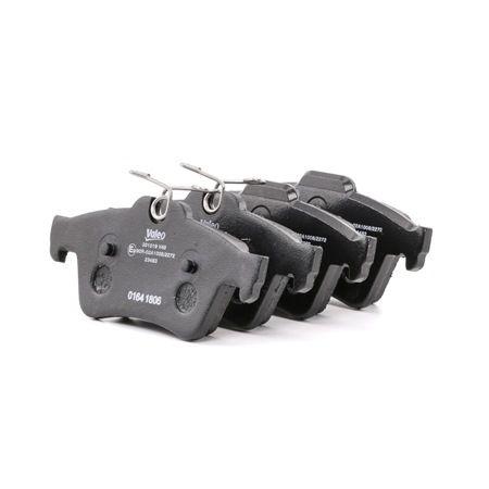 OEM Brake Pad Set, disc brake VALEO 301019
