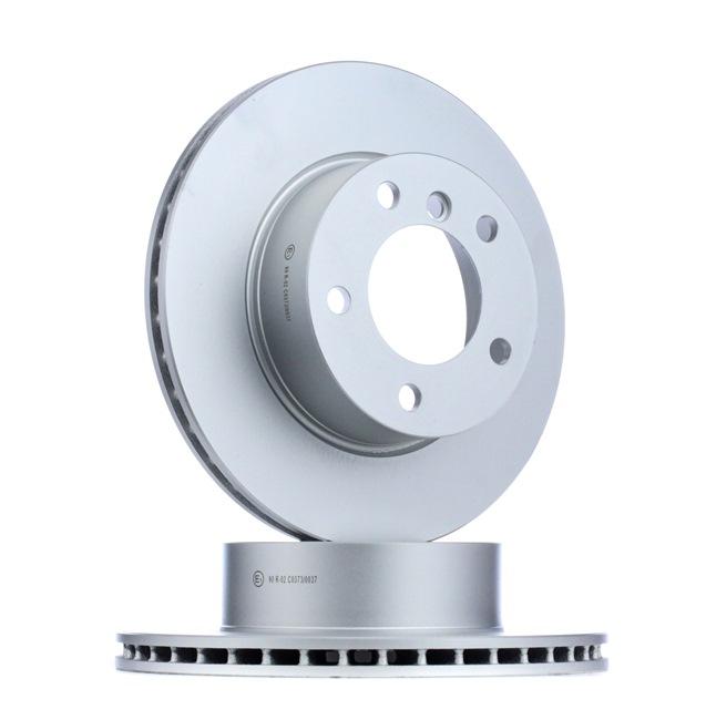 Bremsscheibe Bremsscheibendicke: 22mm, Ø: 284mm mit OEM-Nummer 34.11.6.792.215