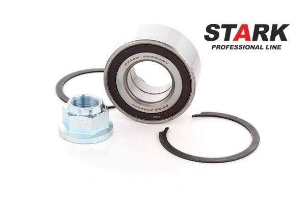 Buje de rueda STARK 7979304 Eje delantero, izquierda, derecha, con anillo sensor magnético incorporado
