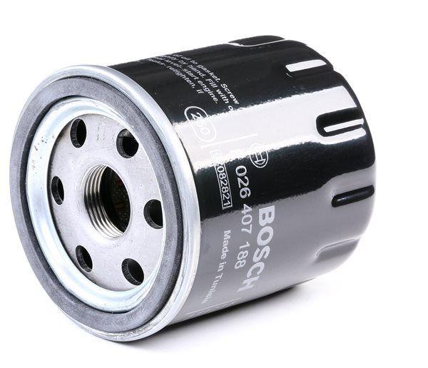 BOSCH Oil filter PEUGEOT Screw-on Filter