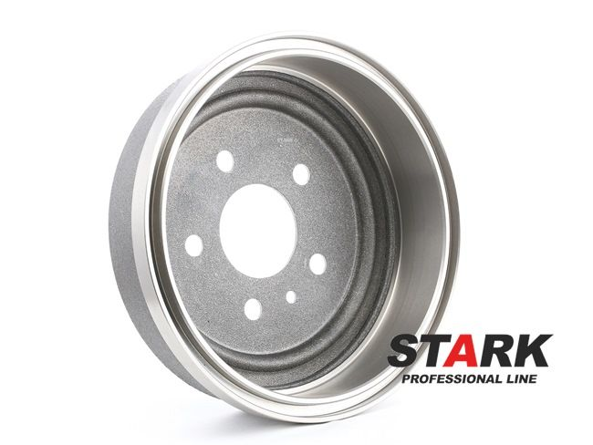 STARK Hinterachse, ohne ABS-Sensorring, ohne Radlager SKBDM0800093