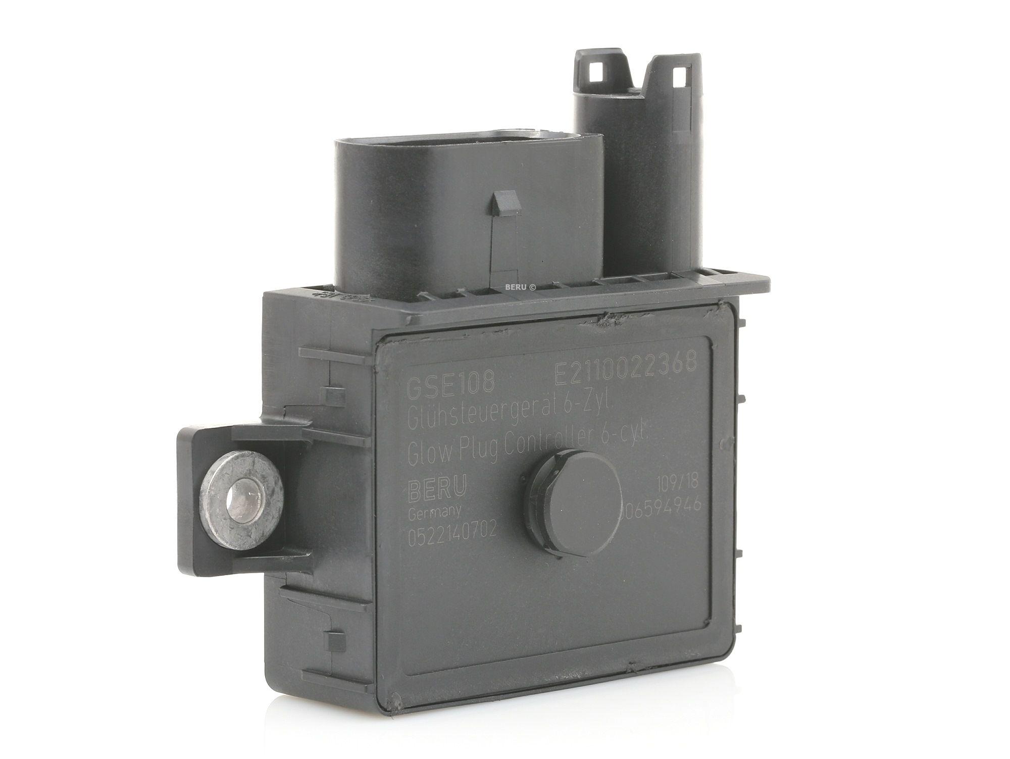 Control Unit, glow plug system BERU GSE108 rating