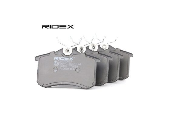 RIDEX Brake Pad Set, disc brake Rear Axle 4059191313075 rating