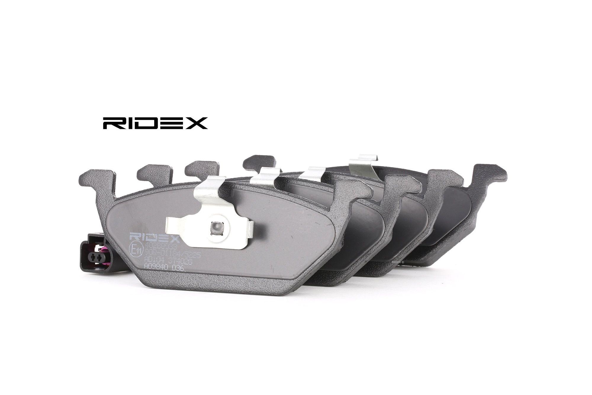 RIDEX 402B1248 Jeu de plaquettes de frein et plaquettes de frein
