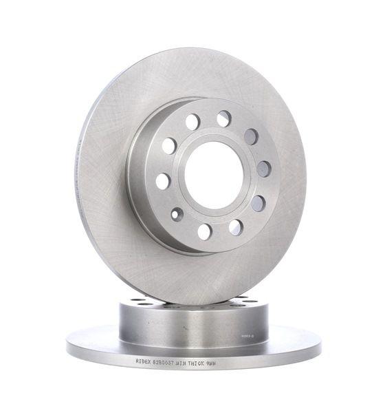 Bremsscheibe Bremsscheibendicke: 12mm, Felge: 5-loch, Ø: 256mm mit OEM-Nummer 1K0615601L