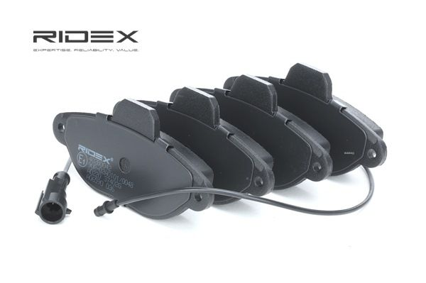 RIDEX 402B0042 Bremsekloss