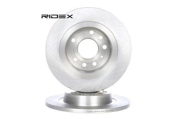 RIDEX Kit dischi freno SAAB Assale posteriore, Pieno, senza mozzo portaruota, senza bullone fissaggio ruota