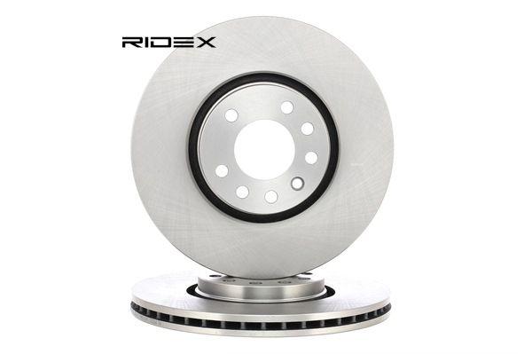 RIDEX Vorderachse, belüftet, Innenbelüftet 82B0188