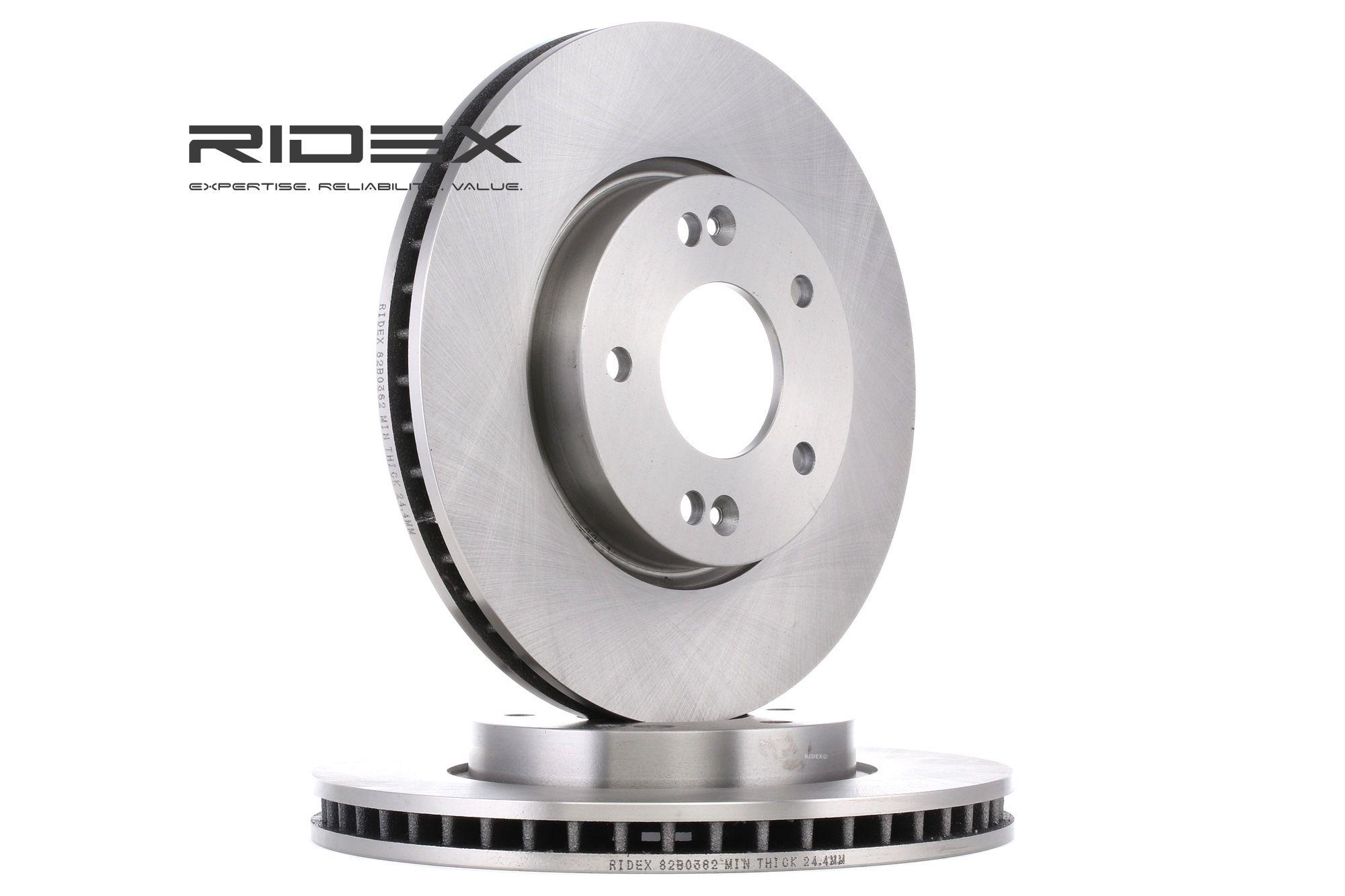 Brake Rotors RIDEX 82B0382 rating